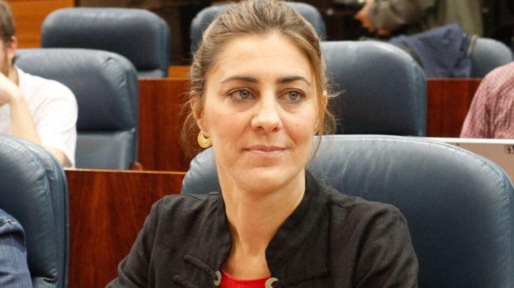 Lorena Ruiz-Huerta, portavoz del grupo parlamentario de Podemos en la Asamblea de Madrid.
