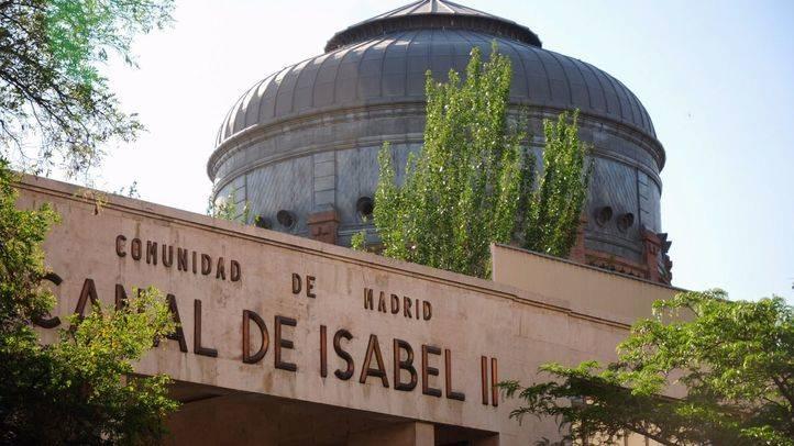 Edificio del Canal de Isabel II en la calle Santa Engracia.