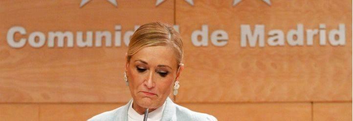 La Guardia Civil ve indicios de delito en la adjudicación de un contrato en la que participó Cifuentes