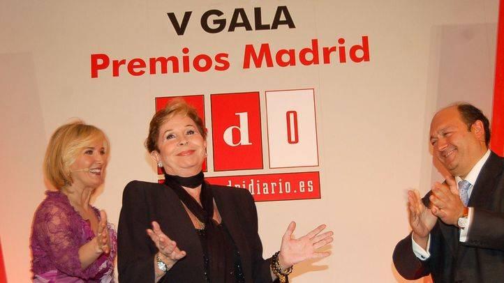 """Premio """"Toda una Vida"""". Lina Morgan"""