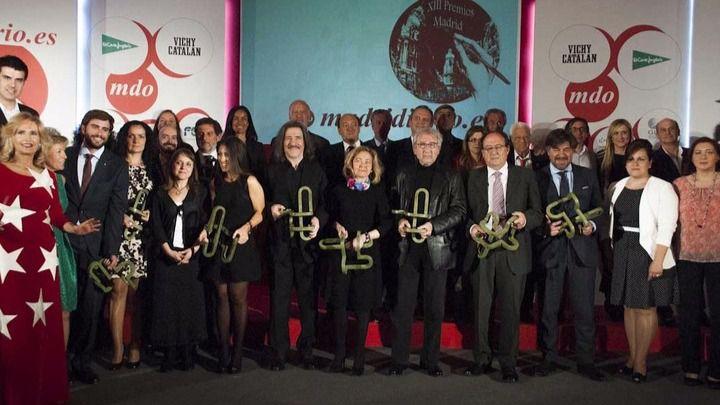 Premiados gala Madridiario