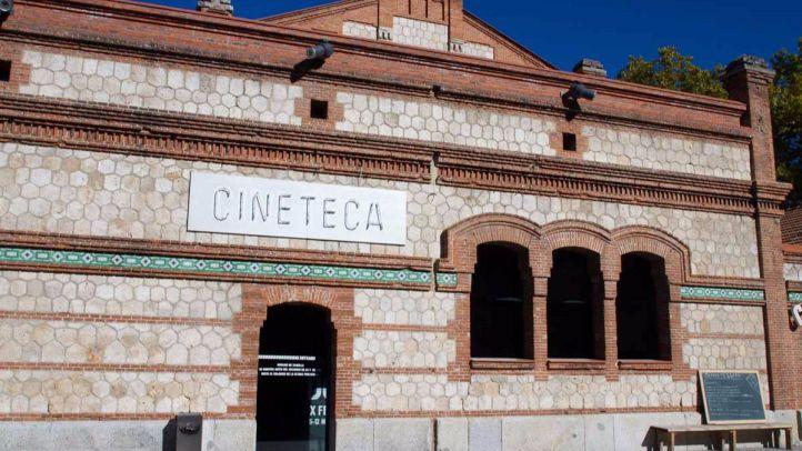 Edificio de la Cineteca del Matadero de Madrid premiado en la XII Bienal de arquitectura y urbanismo.