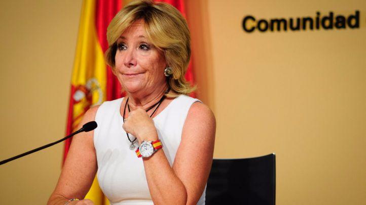 El juez investiga si el PP usó una fundación creada y presidida por Aguirre para financiar sus campañas