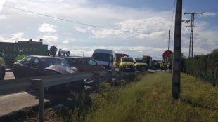 Accidente en Talamanca del Jarama