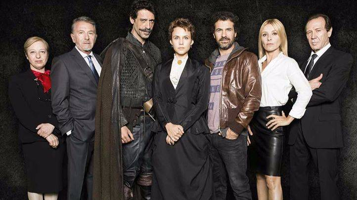 Protagonistas de 'El Ministerio del Tiempo'.