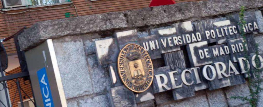 Inicio del curso académico en el rectorado de la universidad Politécnica.