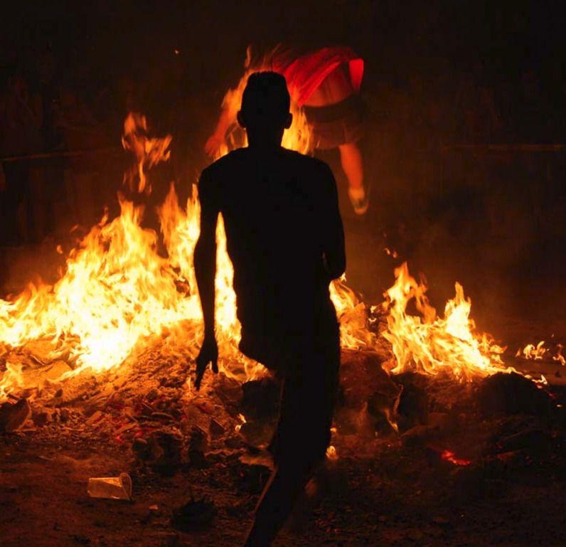Herido grave por quemaduras durante la celebración de las fiestas de San Juan