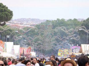 Más de un millón de 'chulapos' por San Isidro