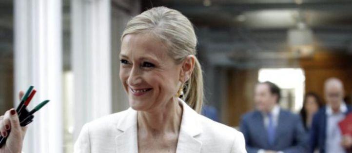 Cifuentes ya es presidenta de la Comunidad de Madrid con el apoyo de Ciudadanos