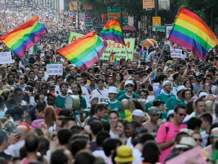 Marcha del Orgullo Gay 2013.
