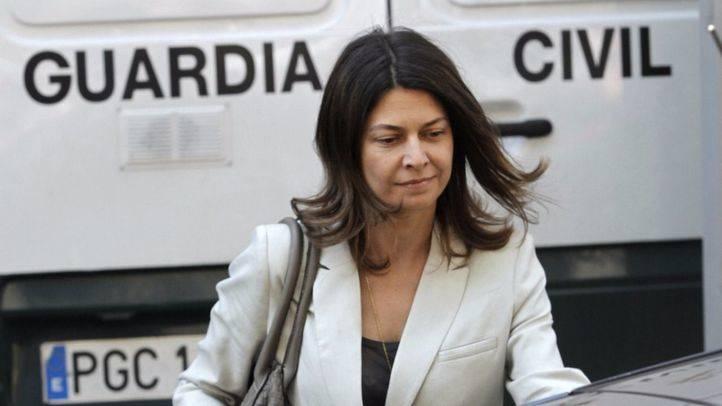 Lucía Figar sale de la Audiencia Nacional como imputada en el caso 'Punica' (Archivo)