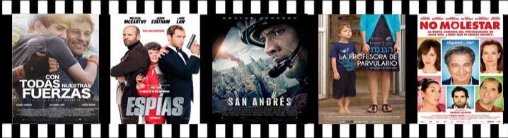 'San Andrés' y 'Espías', en los estrenos de cartelera