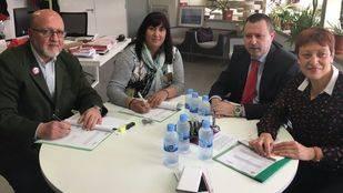UGT y CERMI firman un acuerdo para promover la inclusión sociolaboral de las personas con discapacidad de forma conjunta