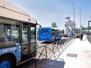 El servicio de información para móviles de la EMT 'Smart Madrid' llega a las 5.500 paradas de autobús de la ciudad