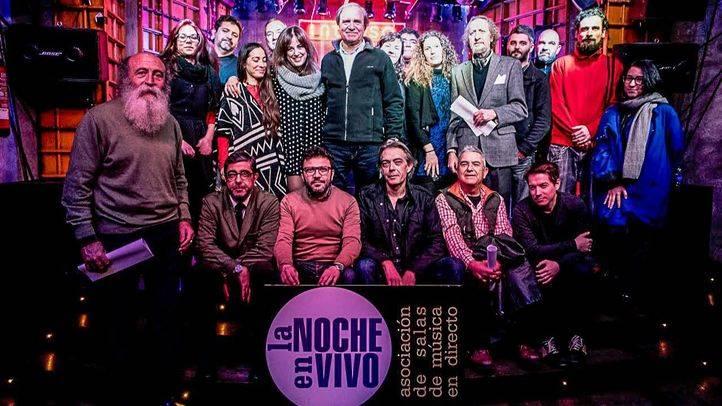 Madrid, de noche y 'en vivo'