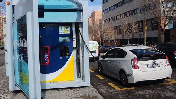 Estacion gas natural vehicular.