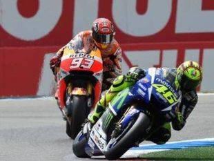 Rossi & Márquez, duelo de titanes en el circuito de Assen