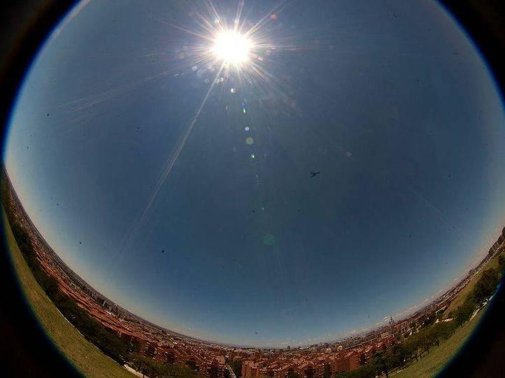 La región vive un episodio de 'ozonazo' con la ola de calor