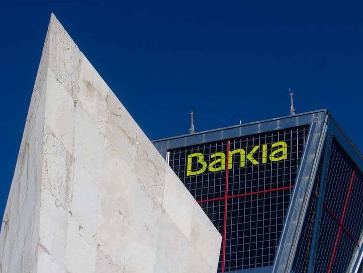 Sede de Bankia en la plaza de Castilla situada en una de las Torres Kio