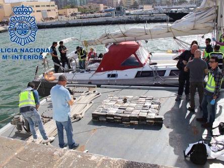 Una operación policial internacional desarticula una enorme red de tráfico de drogas
