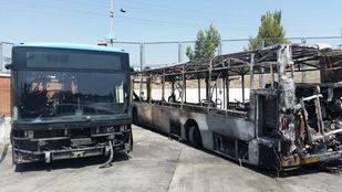 El PSOE denuncia el incendio de autobuses de la EMT por la falta de mantenimiento