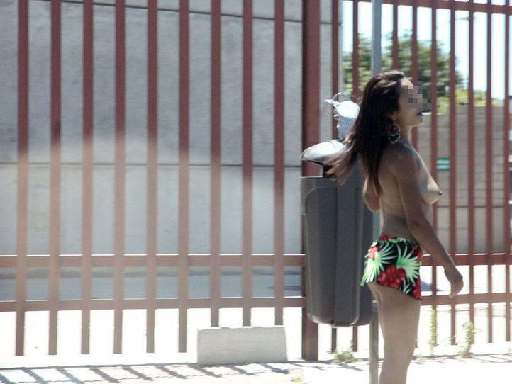 una prostituta en Marconi Villaverde