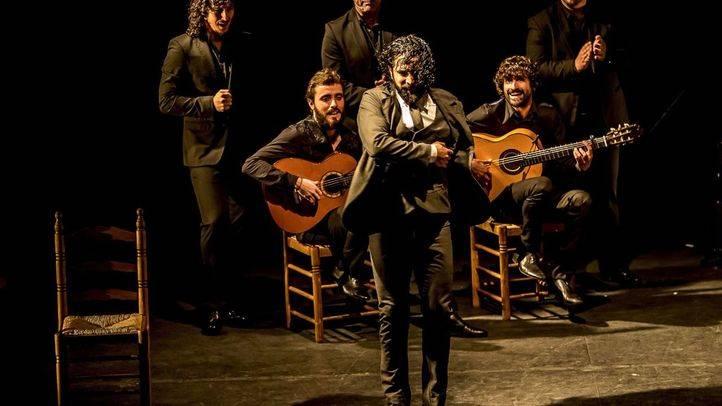 El Choro actuando en Madrid, en el marco del festival Suma Flamenca, Premio Madrid Iniciativa Cultural en 2009