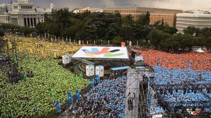 Los madrileños arropan la candidatura olímpica de Madrid para 2016, considerada la mejor iniciativa deportiva en los IV Premios Madrid.