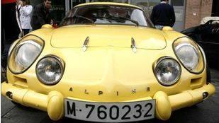 Concentración vehículos clásicos. Majadahonda