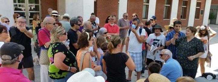 Vecinos de Rivas exigen soluciones para poner fin al incendio del vertedero ilegal