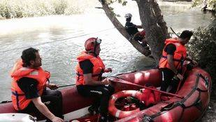 Muere ahogado un hombre de 30 años en el Tajo