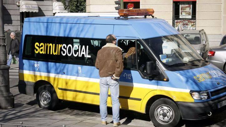 Una ambulancia del Samur Social, Premio Servicio Público Innovador 2005