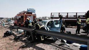Una muerta y un herido grave tras un accidente en la A5