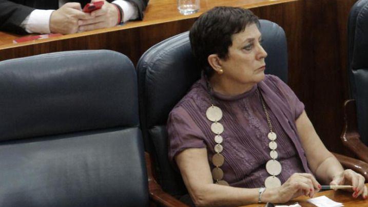 Mercedes Gallizo. Sesión constituyente de la Asamblea de Madrid