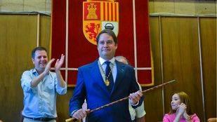 Ignacio Vázquez toma posesión como alcalde de Torrejón