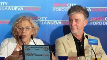 Manuela Carmena en el Foro Nueva Economía
