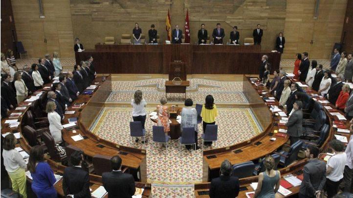 Sesión constituyente de la Asamblea de Madrid
