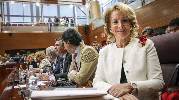 Esperanza Aguirre, I Premio Madrid Candidato Revelación Precampaña Autonómica