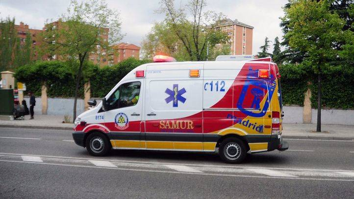 Ambulancia UVI movil del Samur