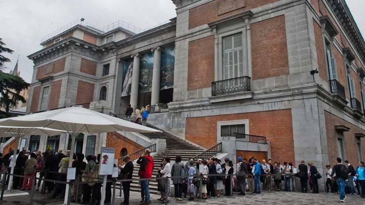 Ayuntamiento Madrid, capital del turismo. Una cita obligada para los turistas es el Museo del Prado.