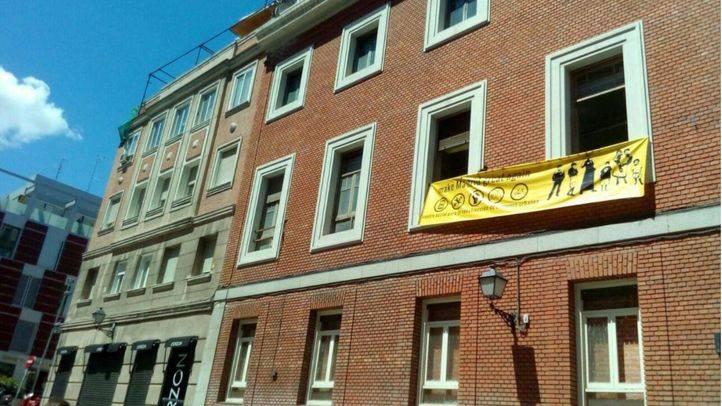 Okupación del edificio en la calle Gobernador