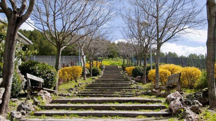 Parque Natural del Mazalmadrit, en Rivas