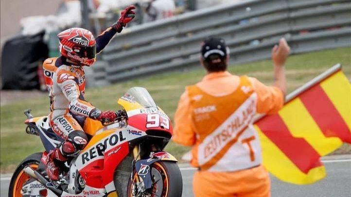 GP de Alemania: Márquez impone su ley en Sachsenring