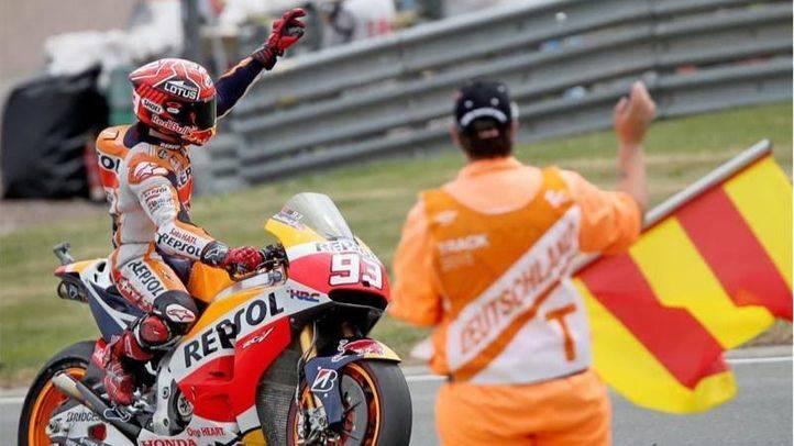 GP de Alemania: Márquez, Pedrosa y Lorenzo, primera línea de salida en MotoGP