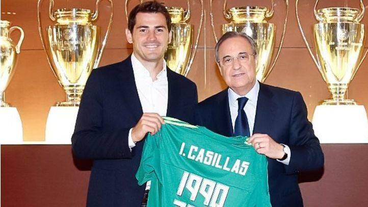 Florentino Pérez asegura que Casillas deja el Madrid porque