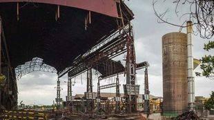 Desmantelado de la fundición de Arcelor-Mittal de Villaverde.