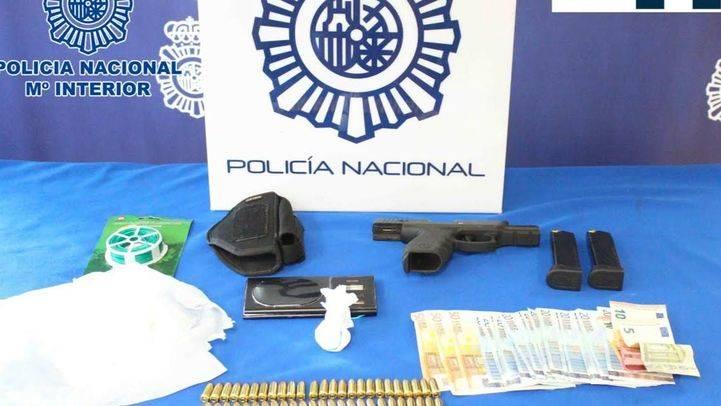 Desmantelado en la Cañada Real un punto de venta de droga