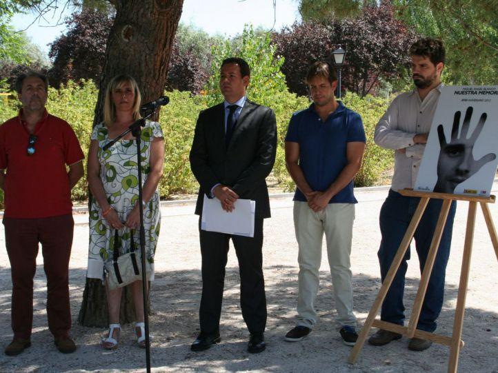 Homenaje a Miguel Ángel Blanco y las víctimas del terrorismo