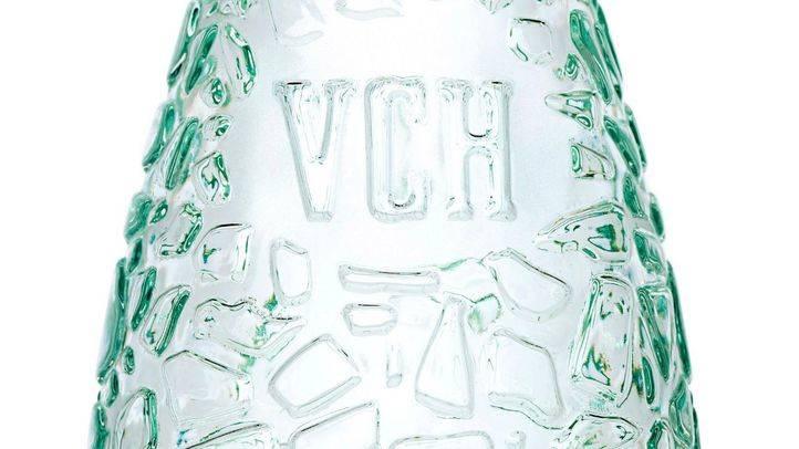 Botella de agua de Vichy Catalán