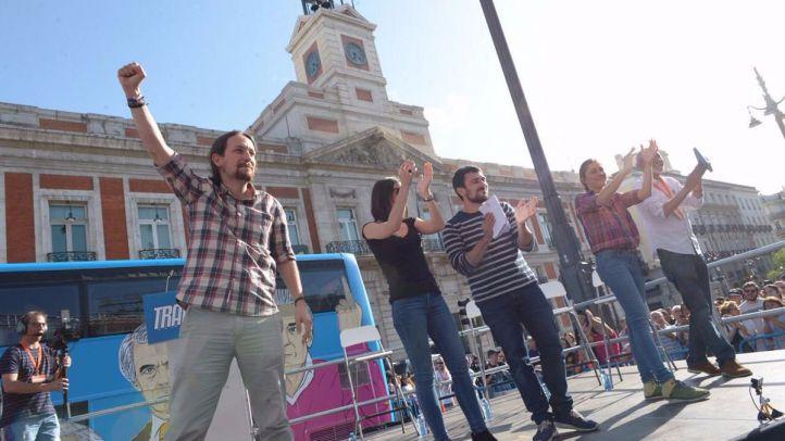 Podemos celebra esta tarde su protesta en Sol